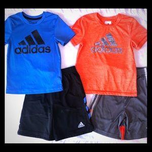 Adidas short sets